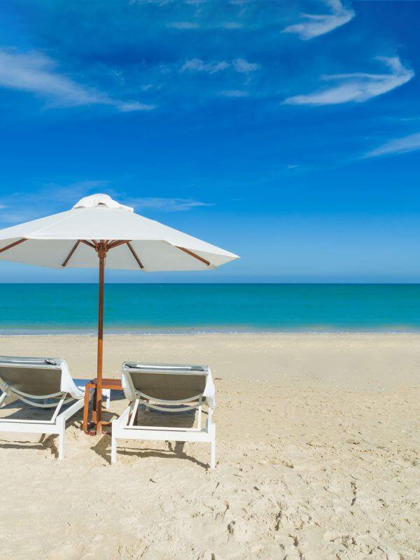 Beach Chairs & Ocean